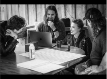 Halestorm en studio (photo par Rob Fenn)